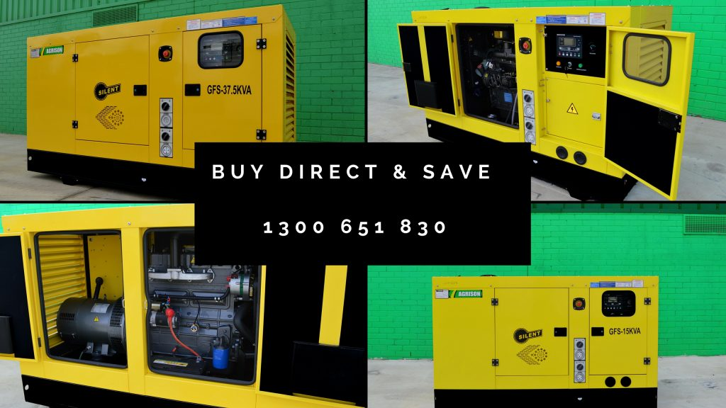 Diesel Generators - buy direct and save